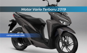 Motor Vario Terbaru 2019