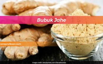 Bubuk Jahe