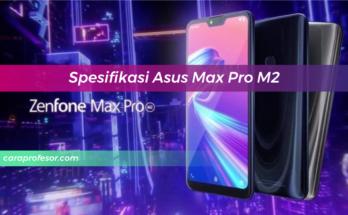 Spesifikasi Asus Max Pro M2