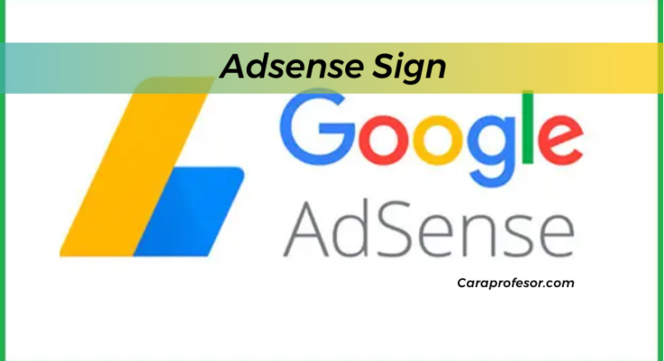 Adsense Sign