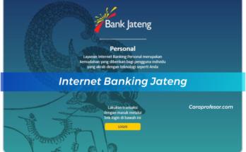 Internet Banking Jateng