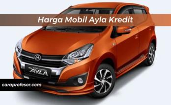 Harga Mobil Ayla Kredit
