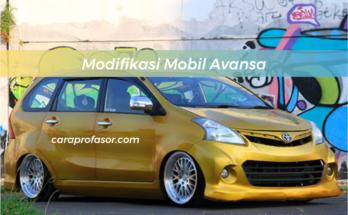 Modifikasi Mobil Avansa