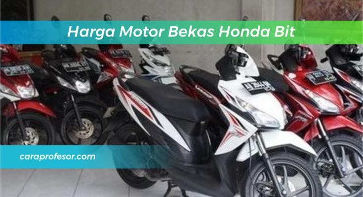 Harga Motor Bekas Honda Bit