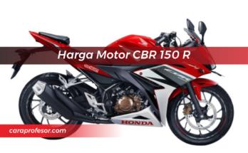 Harga Motor CBR 150 R