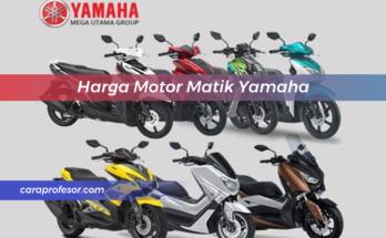 Harga Motor Matik Yamaha