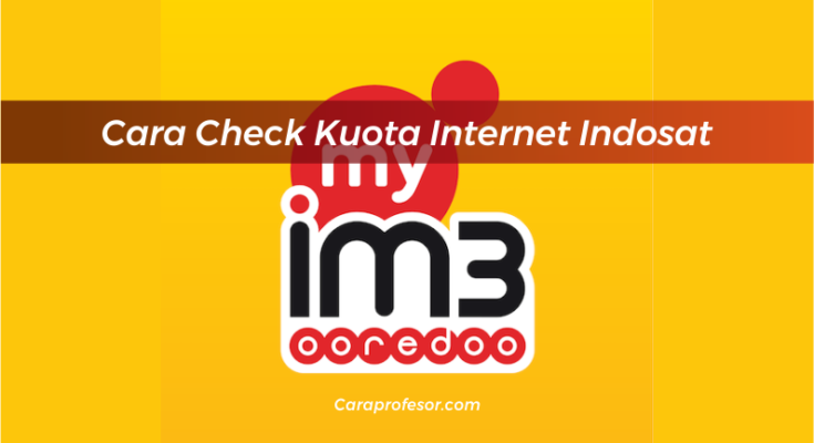 Cara Check Kuota Internet Indosat