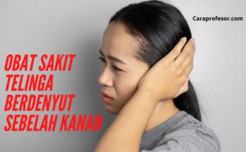 obat sakit telinga berdenyut sebelah kanan