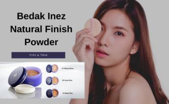 Bedak Inez Natural Finish Powder
