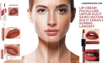 Lip Cream Focallure untuk Kulit Sawo Matang