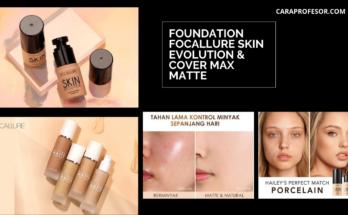 Foundation Focallure Skin Evolution