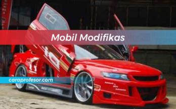 Mobil Modifikas
