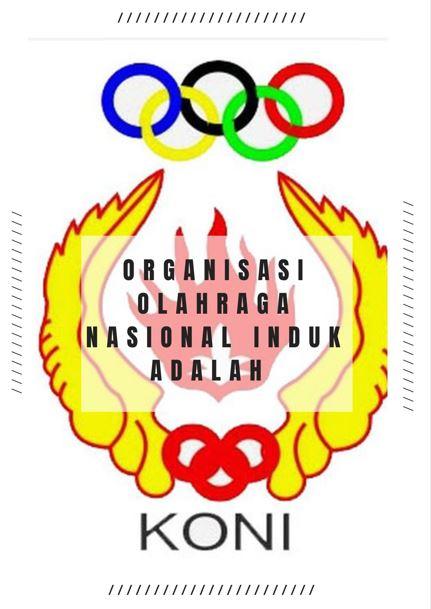 organisasi olahraga nasional induk adalah