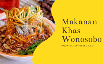 makanan khas wonosobo