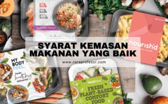 syarat kemasan makanan